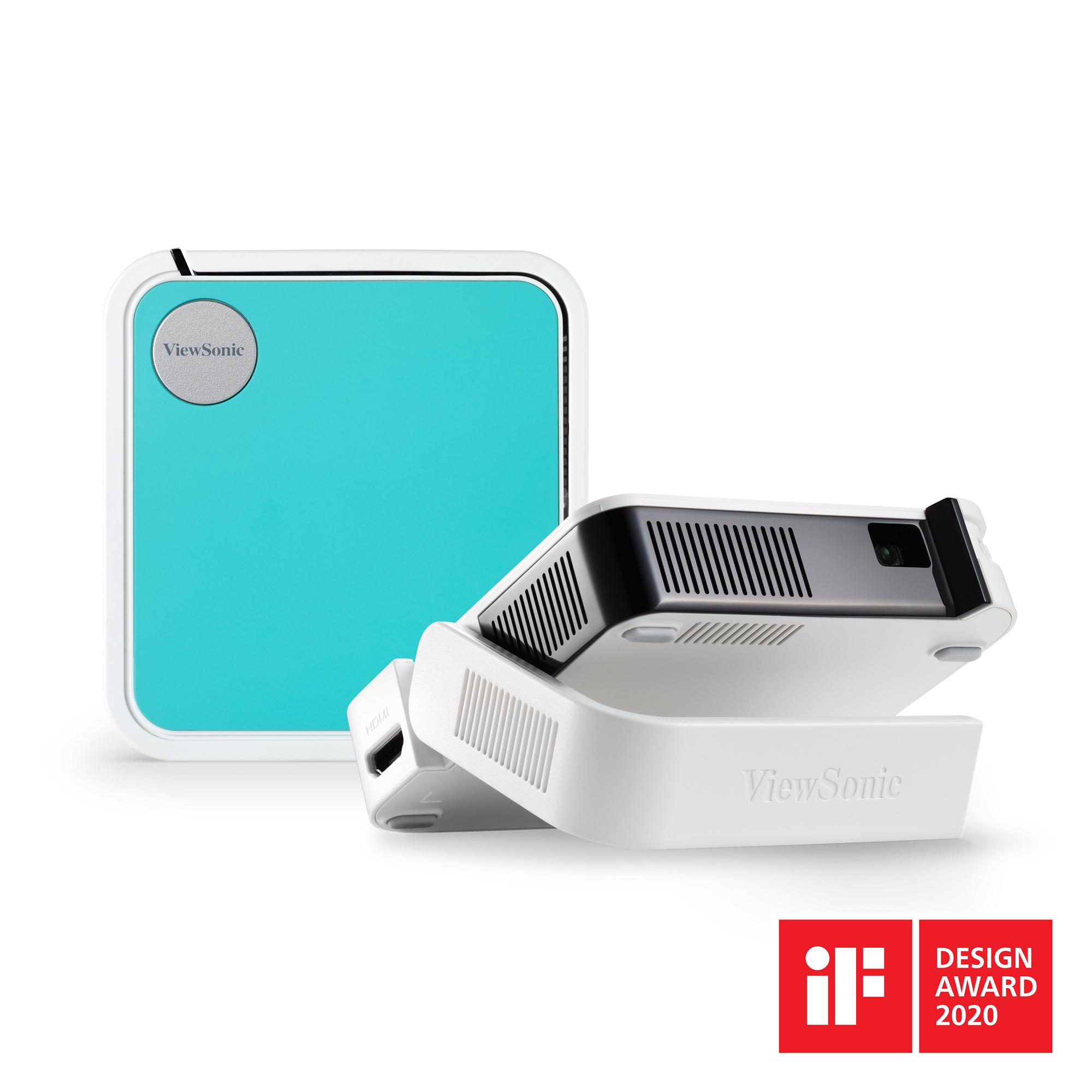 """ViewSonic a anuntat disponibilitatea video-proiectorului """"de buzunar"""" prevazut cu iluminare LED si solutie audio JBL – M1 mini Plus"""